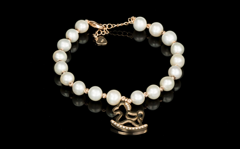Bratara perle cu pandativ Calut 1