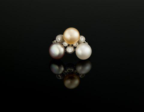 Inel cu Perle