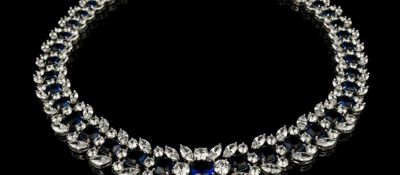 Colier diamante Blue