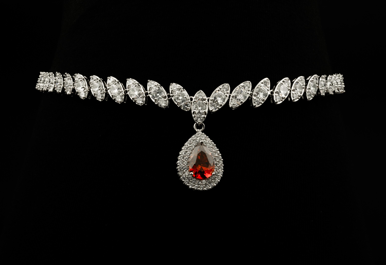 Colier Diamante Artemis Red 00001