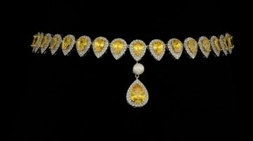 Colier Perle Afrodita Pearl Yellow 01