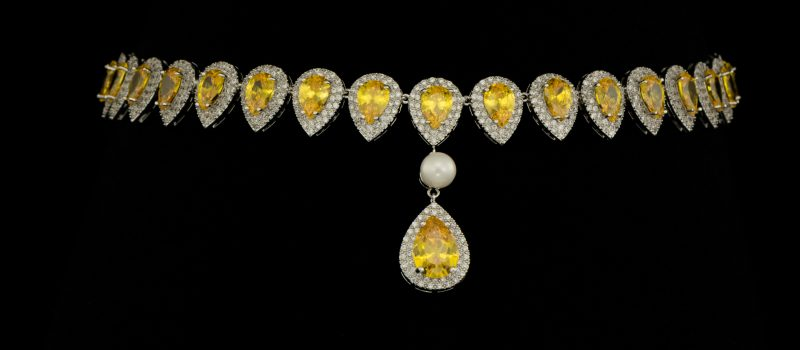 Colier Afrodita Pearl Yellow