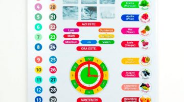 Calendar interactiv